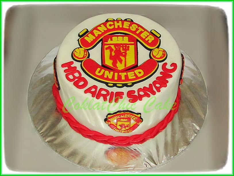 Cake ManU ARIF 15 cm