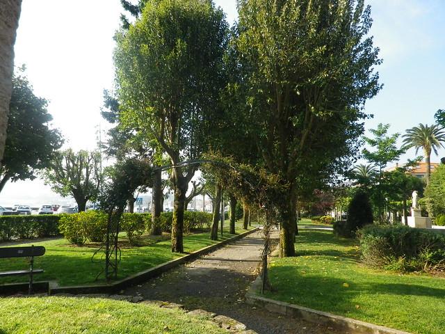 Jardines en Pobra do Caramiñal(Coruña-Galicia-España)