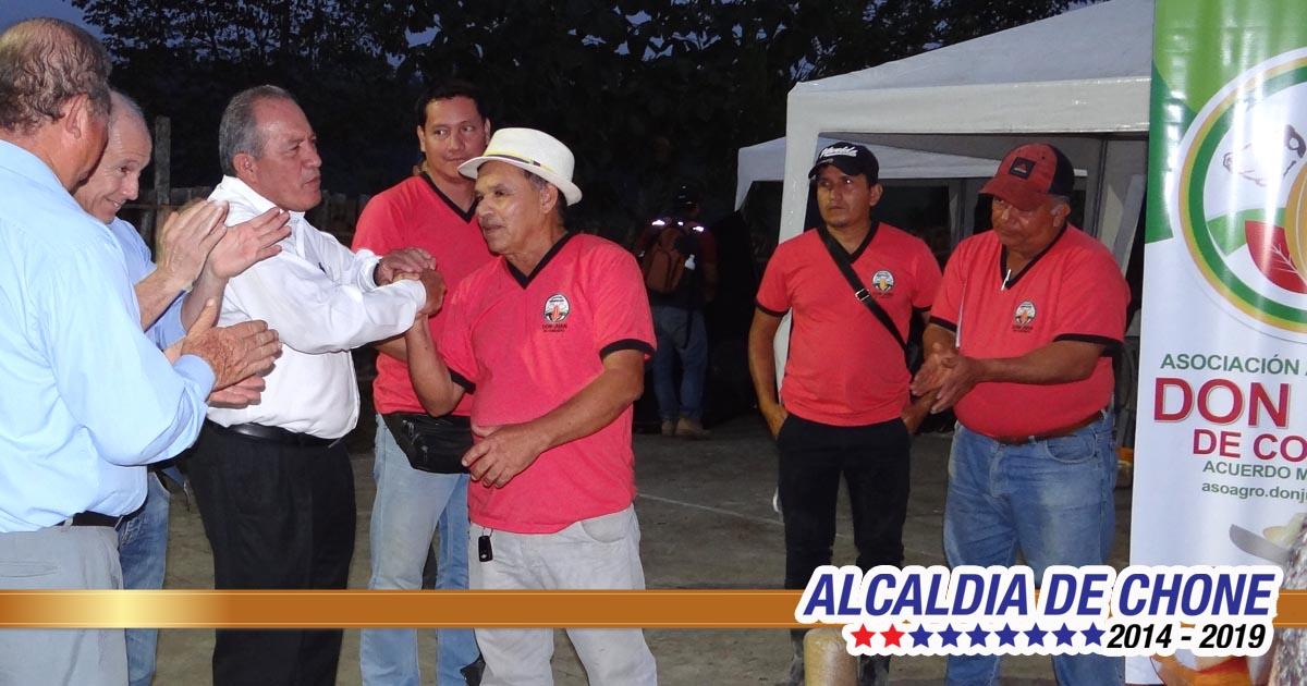 Don Juan de Convento vivió las jornadas productivas municipales
