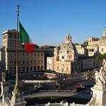 Plaza Venecia (Roma, Italia, 14-10-2017) - https://www.flickr.com/people/26119068@N03/