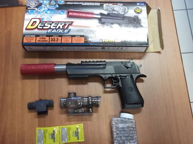 pistola giocattolo cinese