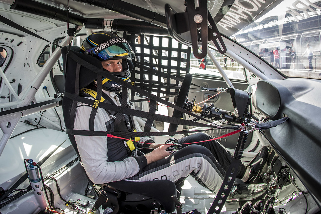 BJORK Thed (SWE), YMR, Hyundai i30 N TCR, portrait during the 2018 FIA WTCR World Touring Car cup, Race of Hungary at hungaroring, Budapest from april 27 to 29 - Photo Gregory Lenormand / DPPI