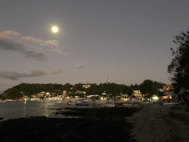 Sabang with full moon
