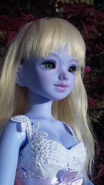 [Ventes] Bjd Chibi Unoa halloween vers. Violet skin Fullset  41978764921_a72aede460_z