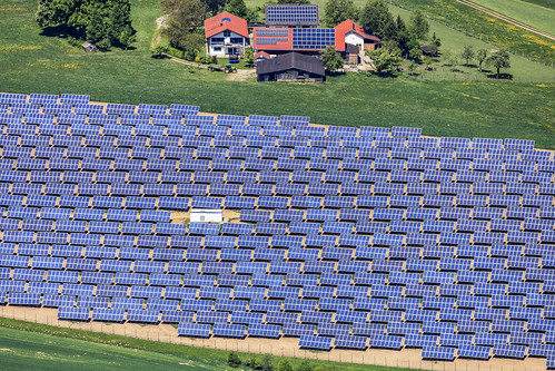 Solar Field In Hebertsfelden-March