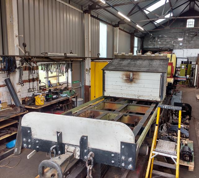 Tool & Generator Wagon