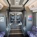 Carriage interior, TfL Rail train