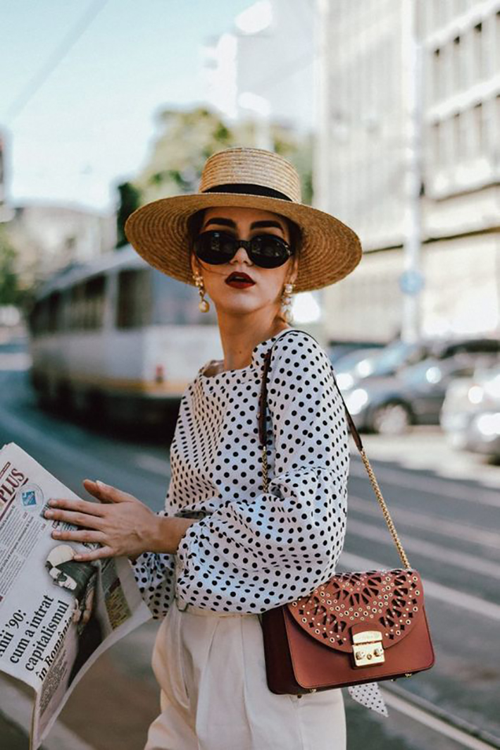 Polka dots trend Outfit Ideas for Spring 2018 style fashion tendencias primavera4