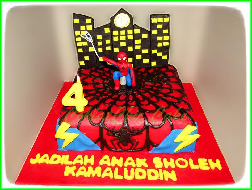Cake Spiderman KAMALUDDIN 20 cm