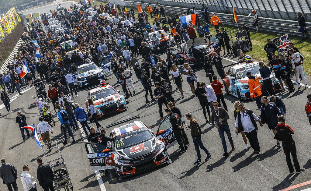 GRID atmosphere during the 2018 FIA WTCR World Touring Car cup of Zandvoort, Netherlands from May 19 to 21 - Photo Jean Michel Le Meur / DPPI
