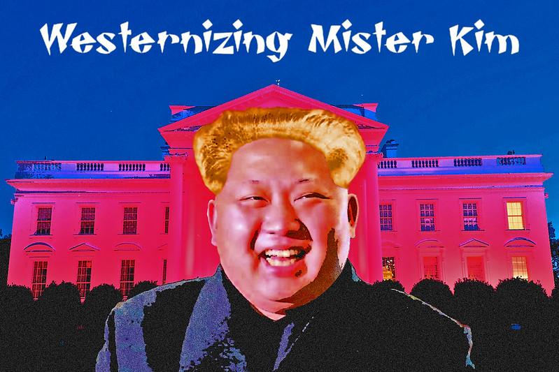 Mr. Kim Goes To Washington