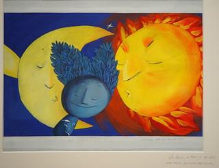La Lluna, la Terra i el Sol / Carme Solé Vendrell  1994 per Teresa Grau Ros a Flickr