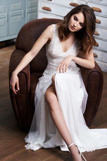 FABIENNE ALAGAMA - robe de mariée créateur - Petra