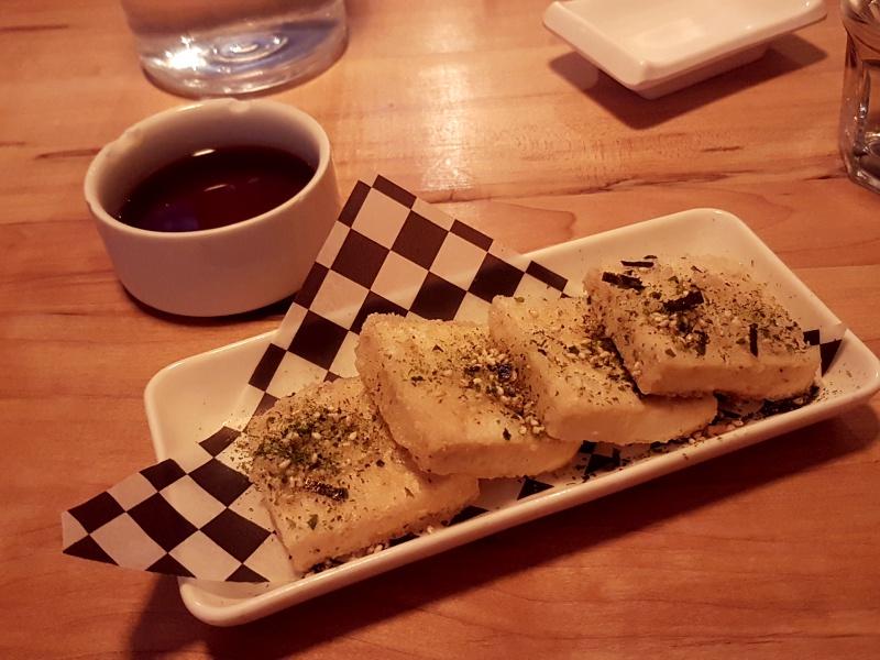 Saku agedashi tofu