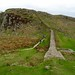 Hadrian's Wall at Steel Rigg, Northumberland