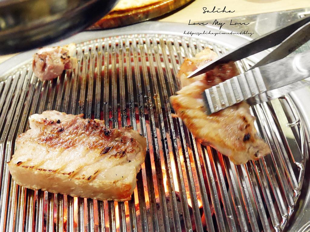 台北東區台韓民國韓式烤肉五花肉 (1)