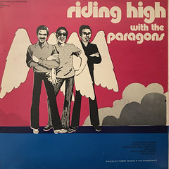 THE PARAGONS:RIDING HIGH WITH THE PARAGONS(JACKET A)