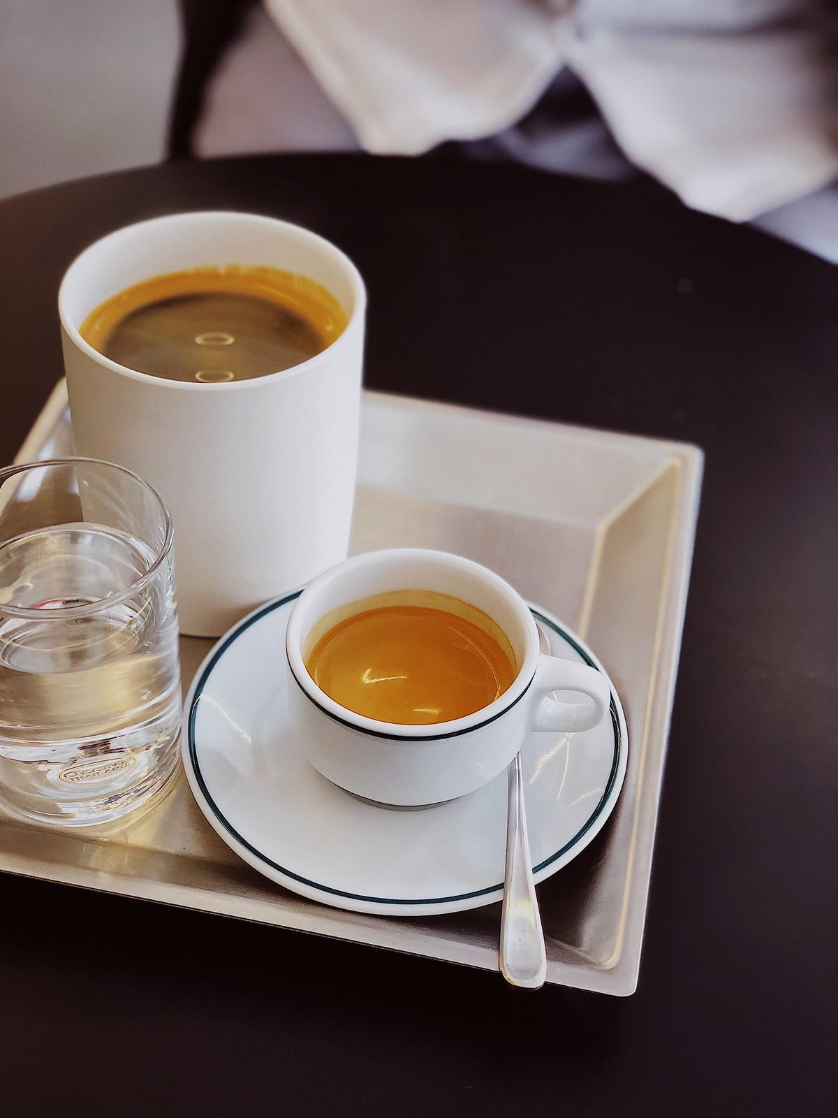 카페 세임의 아메리카노와 에스프레소