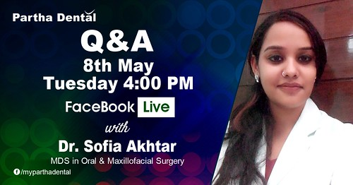 Facebook Live with Dr. Sofia Akhtar, MDS, Maxillofacial Surgery