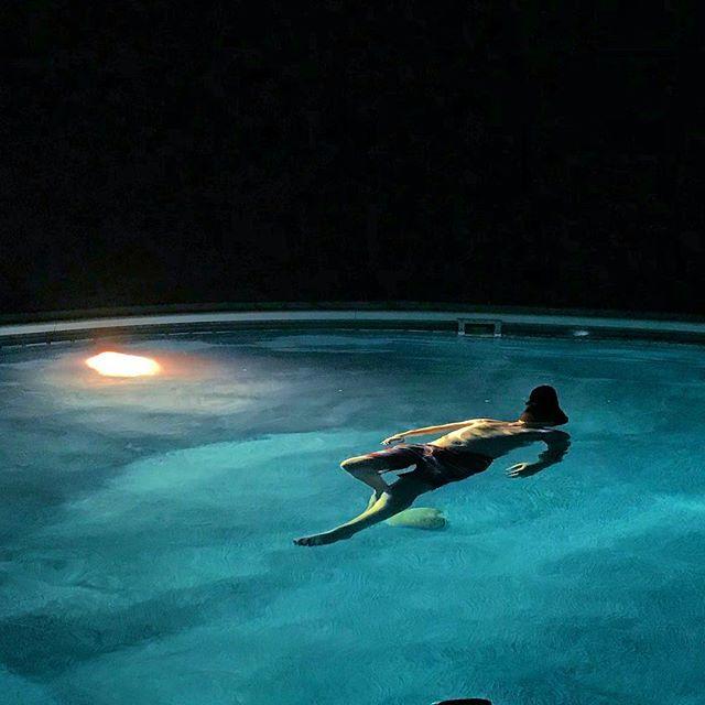 Swimming away 15.