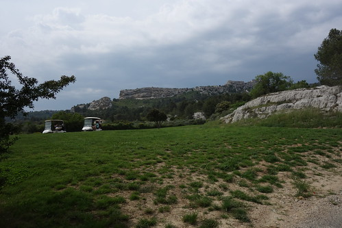 Walking from Les Baux-de-Provence to Maussane-les-Alpilles, France