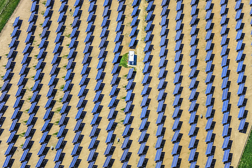 PV-Solarfield In Hebertsfelden-March