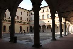 tour of Castle Forzesco