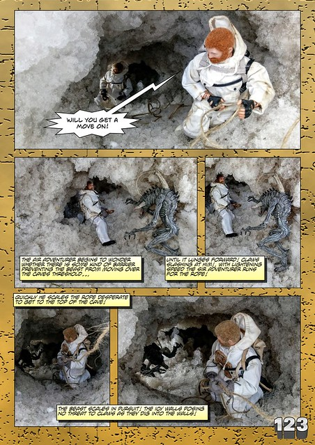 Bamcomix - An old face returns - Chapter Seven - What Lies Beneath The Ice? 27912632388_25597f7ba2_z
