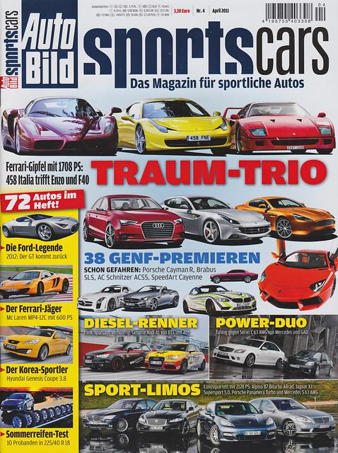 Auto Bild Sportscars 4/2011