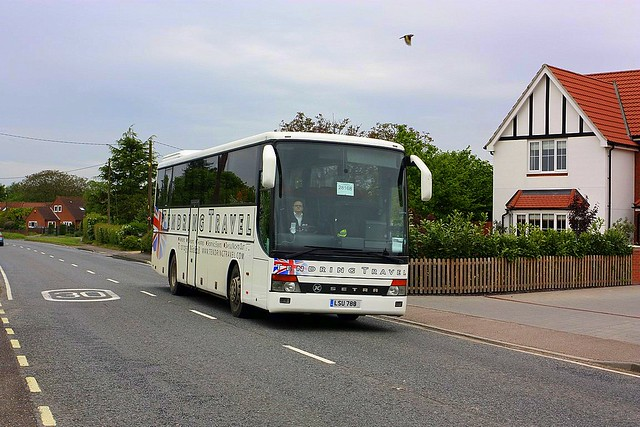 Bus and a Bird at Brantham