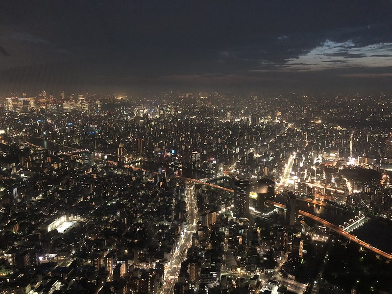 iPhone X - View From Tokyo Skytree