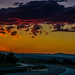 Sunset at Trakia Highway