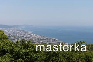 石垣山からの眺め
