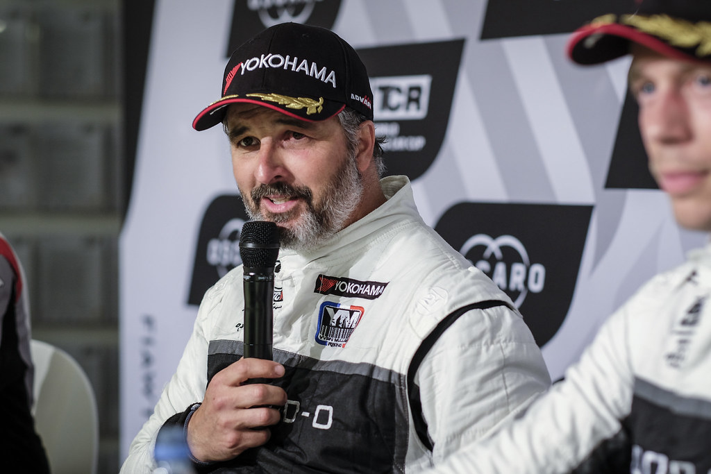 MULLER Yvan (FRA), YMR, Hyundai i30 N TCR, portrait conference de presse press conference during the 2018 FIA WTCR World Touring Car cup of Nurburgring, Nordschleife, Germany from May 10 to 12 - Photo Francois Flamand / DPPI