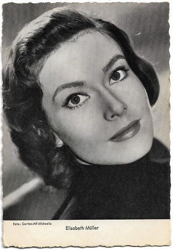 Elisabeth Müller in Rosen für Bettina (1955)