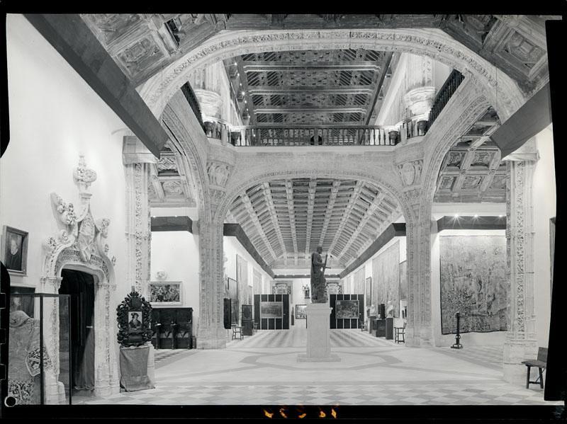 Museo de Santa Cruz. Fotografía de Juan Miguel Pando Barrero © Fototeca del IPCE signatura PAN-076294_P