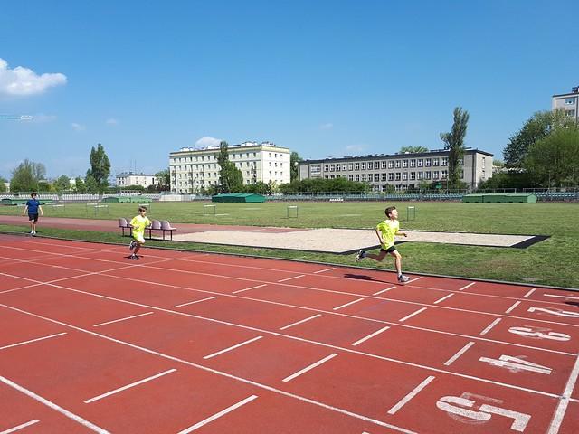 Międzynarodowy Test Sprawności Fizycznej - Zawodnicy AM TENIS