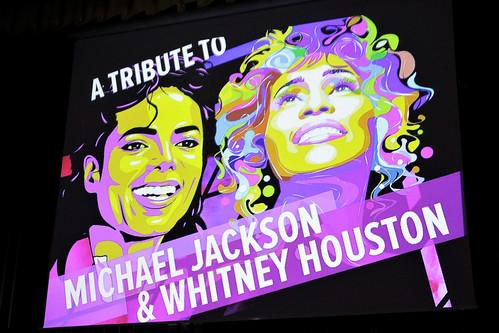 27.04.18. A tribute to M. Jackson & W. Houston