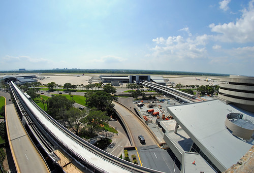 tpa tampa international airport 8mm view overview