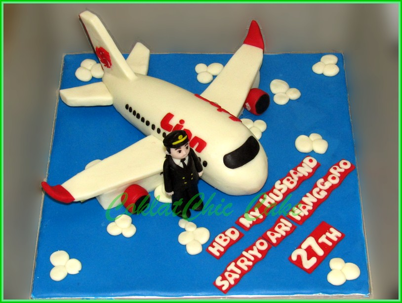 Cake Pilot Lion Air SATRIYO 15 cm