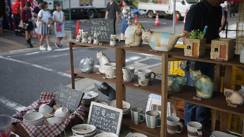 Bargains at the Seto-mono Matsuri