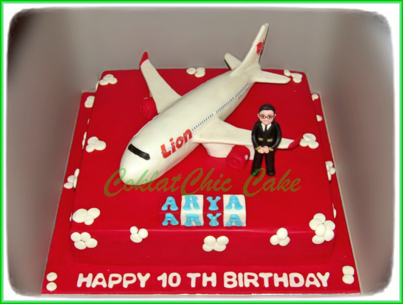 Cake Lion Air Pilot ARYA 30x30