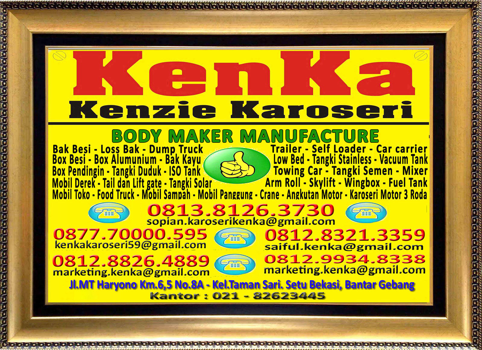 Logo KenKa - Sopian - Marketing