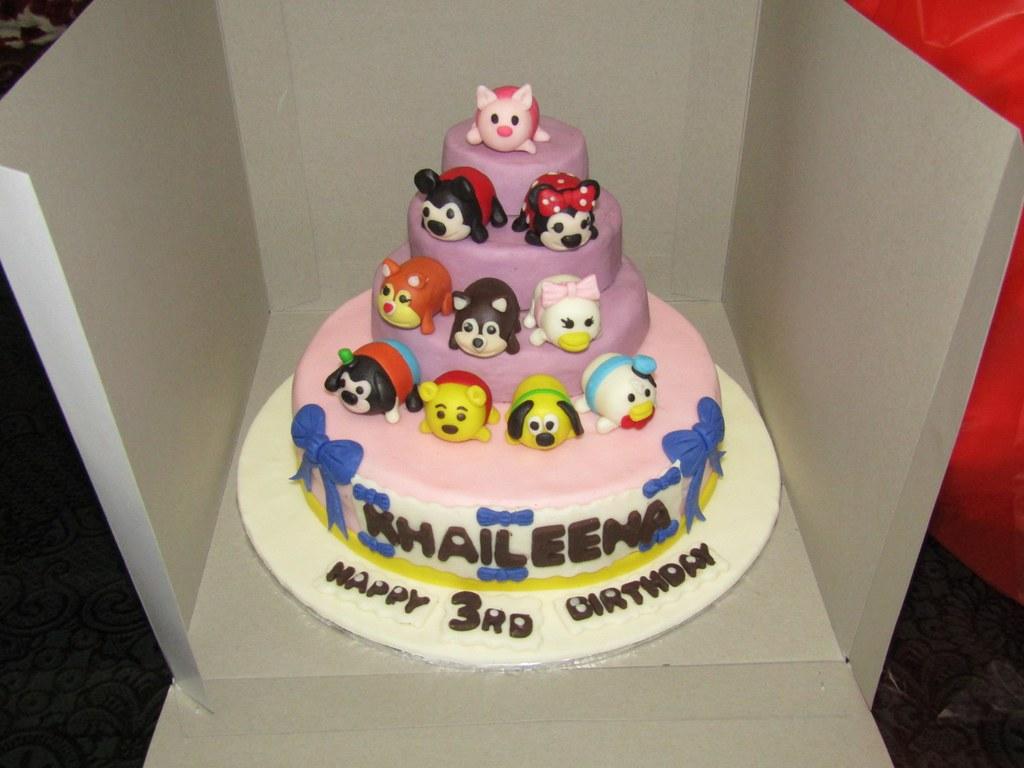 Cake Disney Tsum Tsum KHAILEENA 20 cm