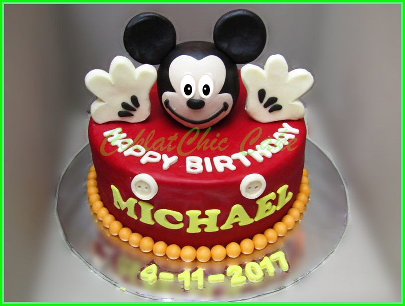 Cake Mickey Mouse MICHAEL 22 cm