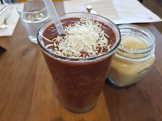 Chocolate Cherry Smoothie at St Coco Cafe