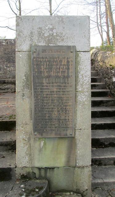 Kilmadock Parish, Doune, World War 2 Memorial