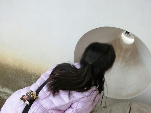 姫路城の穴