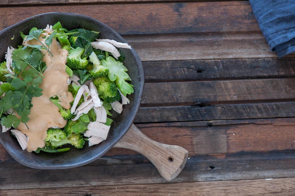 One Pot Chicken & Broccoli w Peanut & Lime-2