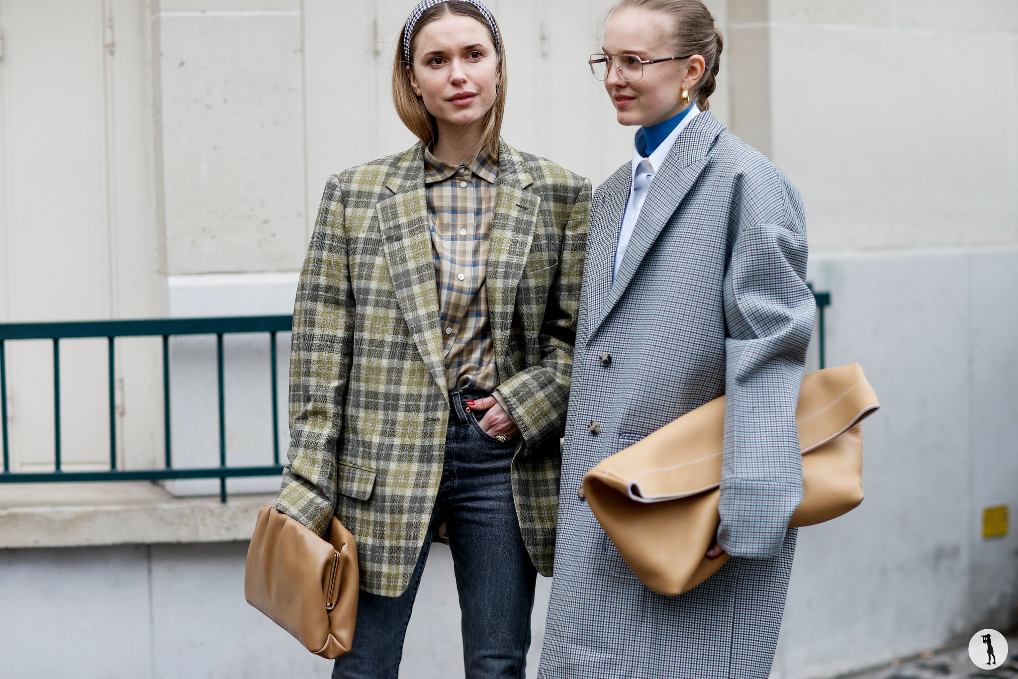Pernille Teisbaek and Alexandra Carl - Paris Fashion Week Fall-Winter 2018-2019 (4)